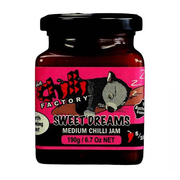 Medium Chilli Jam - Sweet Dreams The Chilli Factory Hunter Valley Hampers