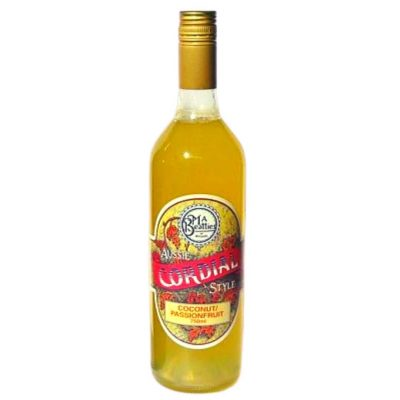 Coconut and Passionfruit Cordial MA Beatties Hunter Valley Hampers
