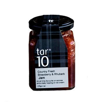 Country Fresh Strawberry & Rhubarb Jam by Tar 10