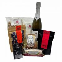 Sparkling Christmas Breakfast Hamper plus Christmas Hamper