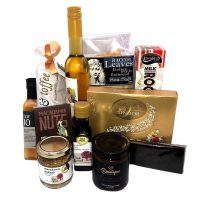 Sticky Choc Rock Nuts Christmas Gourmet plus Hamper Christmas