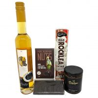 Chocolate Gift hamper with Sticky, Chocolate, Rocky Road & Nuts hamper plus hunter valley gourmet gifts