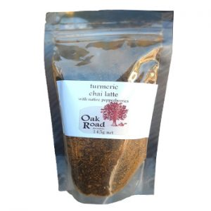 Chai Latte -Tumeric & Native Pepperberries by Oak Road