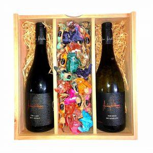 Wine Connoisseurs Premium Twin Gift Hamper Hunter Valley Hampers
