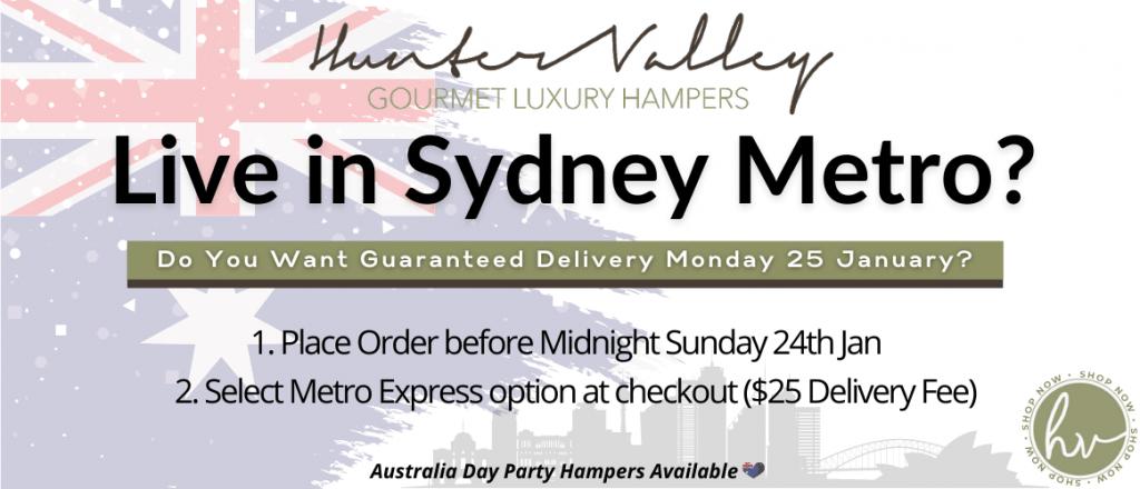 Sydney Same Day Delivery Gift Hampers